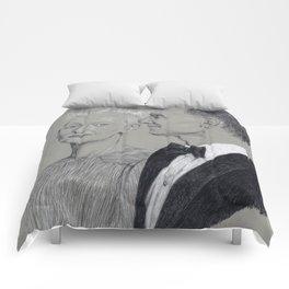 Tom Hiddleston and Tilda Swinton Comforters