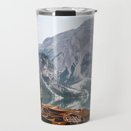 Day at the Mountain Lake Travel Mug