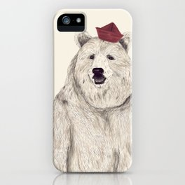 Oso Padre iPhone Case