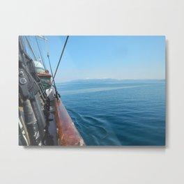 The Sea Side Metal Print