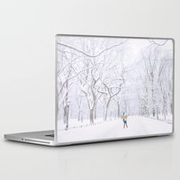 central park Laptop & iPad Skins featuring Central Park  by Vivienne Gucwa