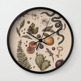 Florida Nature Walks Wall Clock