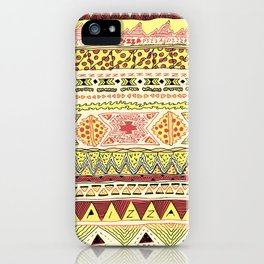 Pizza Pattern iPhone Case