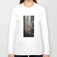 forrest Long Sleeve T-shirts featuring forrest VI. by Zsolt Kudar