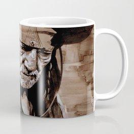 Sepia Willie Coffee Mug