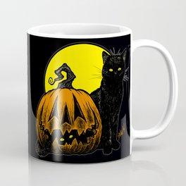 Still Life with Feline and Gourd Coffee Mug