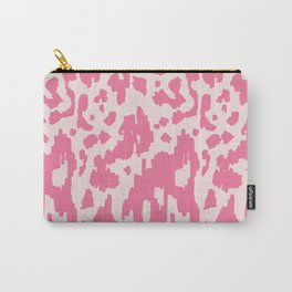 Modern Abstract Ikat pink #homedecor Carry-All Pouch