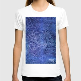Map of Florence Italy, year 1890 T-shirt