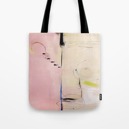 No. 04 Pink Abstract Painting  Tote Bag