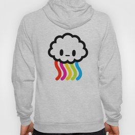 Rainbow rain Hoody