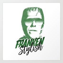 Franken Stylish Art Print