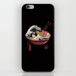 Great Ramen Wave iPhone Skin