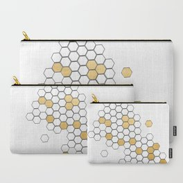 Honey Comb Carry-All Pouch