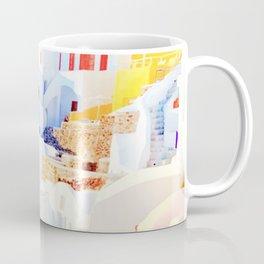 Aegean Island with Colorful Houses Coffee Mug