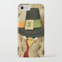 turkey iPhone & iPod Cases featuring Turkey Time by IowaShots