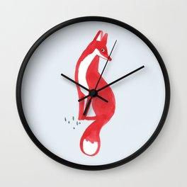 Very Red Wall Clock