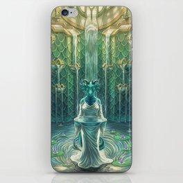 Elemental Temple - Water iPhone Skin