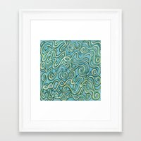 bows Framed Art Prints featuring Bows by Motif Mondial