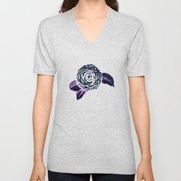 Flower Unisex V-Neck