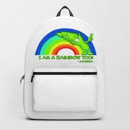 I am a Rainbow Too! - Kanebes - Backpack