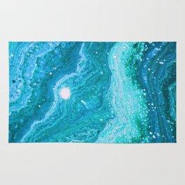 Blue Greenery Rug