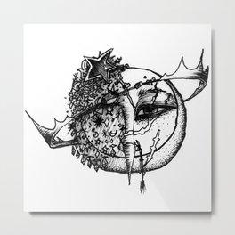 Planetery Metal Print