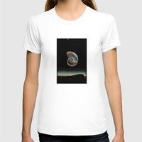 dark side of the moon T-shirts featuring DARK SIDE OF THE MOON by Mitch Meseke