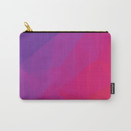 Purple Haze Poly Carry-All Pouch