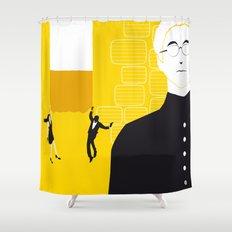Tmorrow Never Dies Shower Curtain