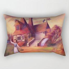 A Peculiar Girl Rectangular Pillow