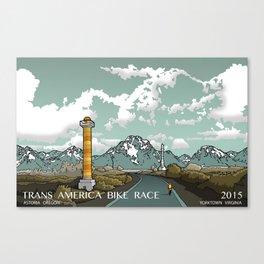 TRANS AM BIKE RACE Canvas Print