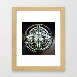 """Astrological Mechanism - Taurus"" Framed Art Print"