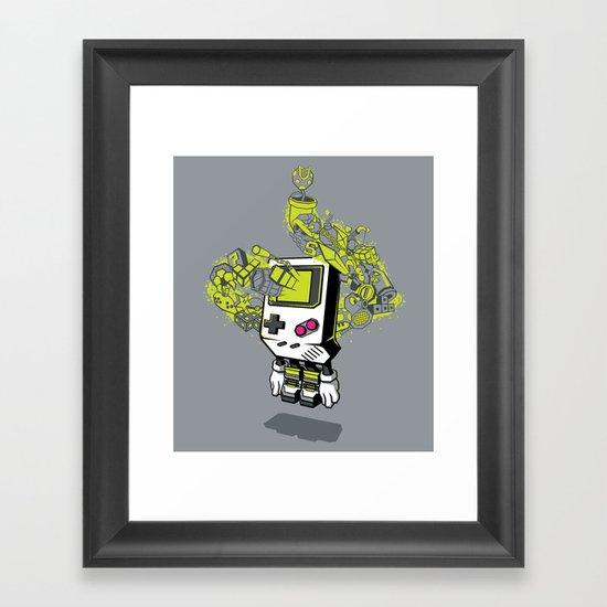 Pixel Dreams Framed Art Print