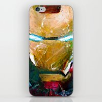 ironman iPhone & iPod Skins featuring IRONMAN by DITO SUGITO