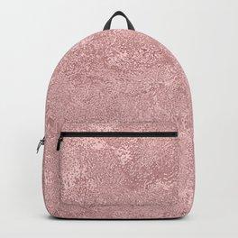 Textured Blush Foil Backpack