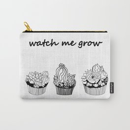 little cacti and succulents . Watch me grow ( https://society6.com/totalflora/collection ) Carry-All Pouch