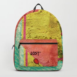 Lost - color Backpack