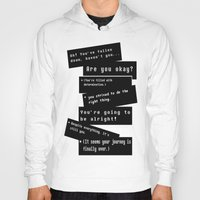 journey Hoodies featuring Journey by writingoverashes