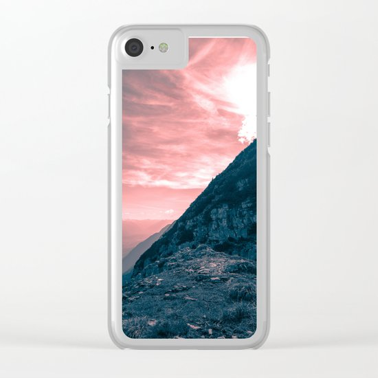 Path of Courage Clear iPhone Case