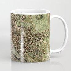 Old Paris Map and other manuscripts Mug