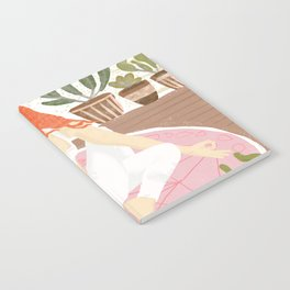 Yoga + Pizza Notebook
