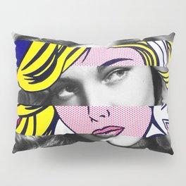 Roy Lichtenstein's M-Maybe & Lauren Bacall Pillow Sham