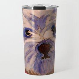 West highland terrier Westie dog love Travel Mug