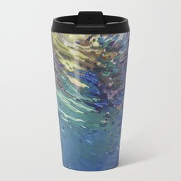 Emerging from a deep dive Travel Mug