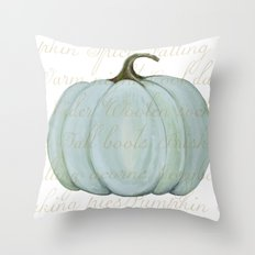 Cozy Fall things  Throw Pillow