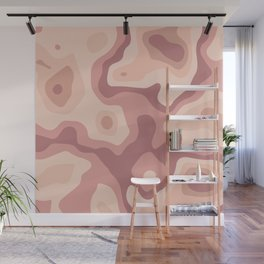 Abstract realistic paper decoration Wall Mural