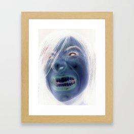 Witch-y or Bitch-y Framed Art Print