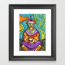 कृष्ण Framed Art Print