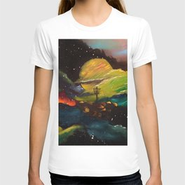 Galaxy Discing T-shirt