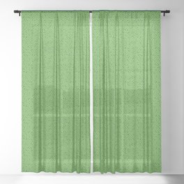 Pattern 022: Worms II GN Sheer Curtain